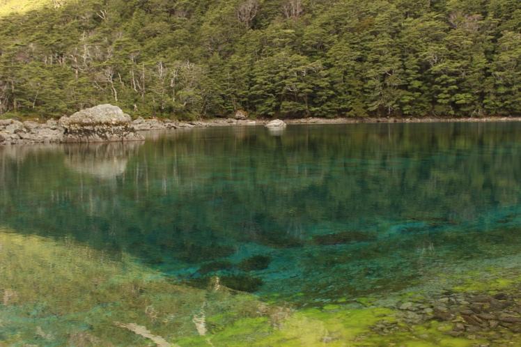 Der kristallklare Blue Lake