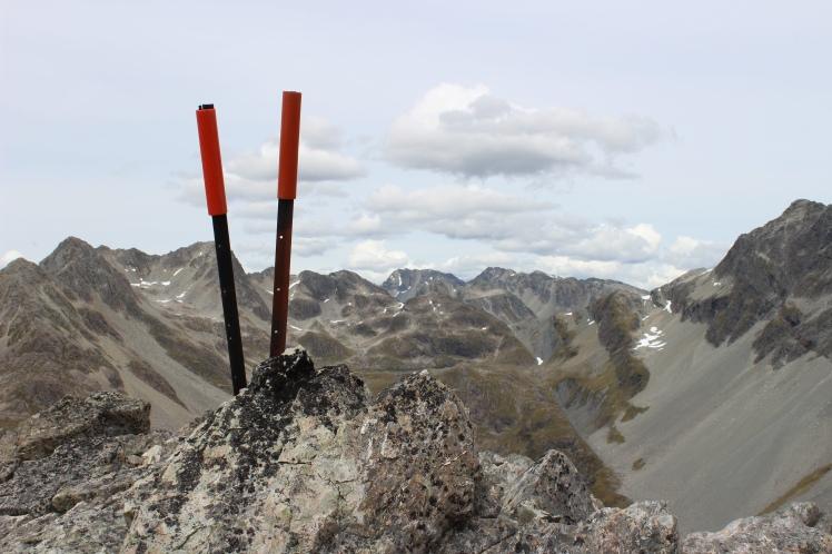 Ausblick vom höchsten Punkt des Waiau Passes